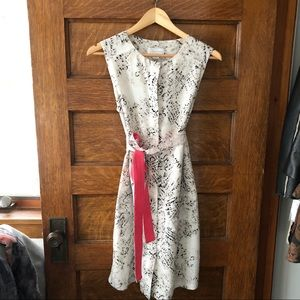 Jessica Simpson patterned dress